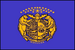 Missouri State Guard Flag