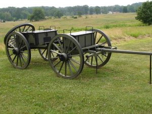 Field Artillery Limber and Caisson