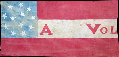 Arkansas Volunteer Infantry Flag