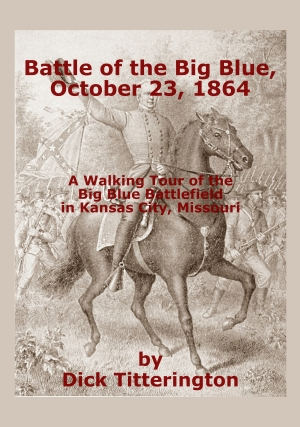 Big Blue Battlefield Walking Tour book cover image