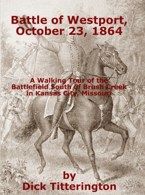 Battle of Westport Walking Tour book cover image