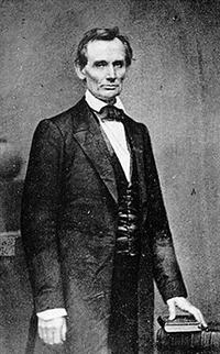 Abraham Lincoln in 1860