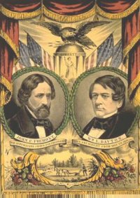 1856 Fremont Presidential Campaign Poster