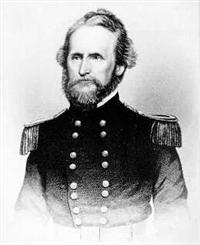 Union Brigadier General Nathaniel Lyon in Command of the Union Army of the West