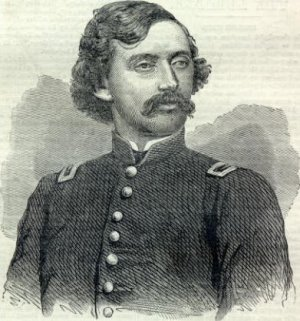 Union Colonel James A. Mulligan from Harpers Weekly