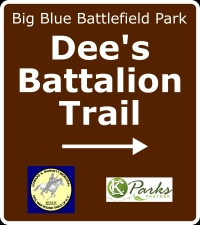 Dee's Battalion Trail Sign