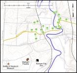 Big Blue Battlefield Walking Tour Map