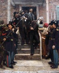 'The Last Moments of John Brown', oil on canvas painting by Thomas Hovenden