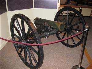 Abbott Howitzer recaptured by Free State Militia