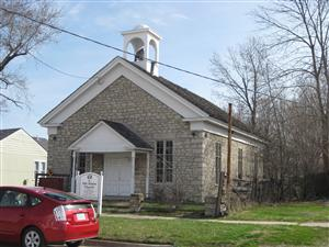 The Old Stone Church in Osawatomie, Kansas