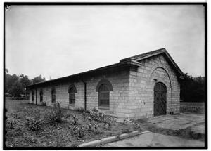 Building Number 4, Magazine for Small Arms, in 1936 at the United States Arsenal, Second & Arsenal Streets in Saint Louis, Missouri - Library of Congress