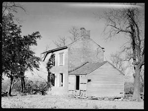 William M. Adams House near Boonville - photo taken in 1936 - Library of Congress