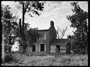 William M. Adams House near Boonville - photo taken in 1937 - Library of Congress