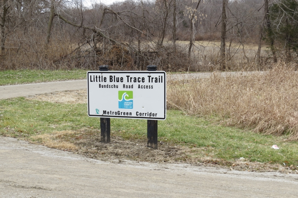 Little Blue Trace Trailhead off Bundschu Road (photo by theCivilWarMuse)