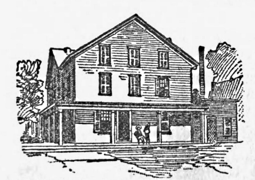 Sketch of the City Hotel