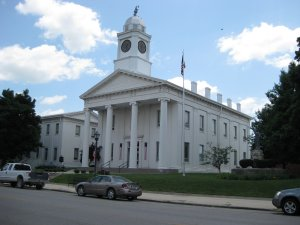 Lafayette County Courthouse, Lexington, MIssouri