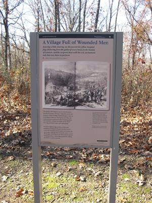 Leetown Interpretive Sign