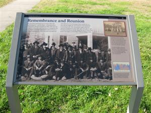 Remembrance and Reunion Interpretive Sign
