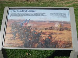 That Beautiful Charge Interpretive Sign