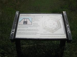 Interpretive Sign: The Powder Magazine
