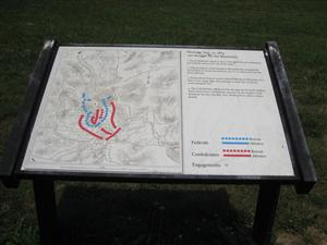 Interpretive Sign: The Struggle for the Mountains