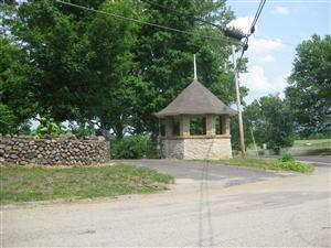 Stone Gazebo now located near where there was a Federal Picket Post on September 26, 1864
