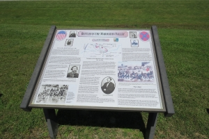 Battles of the Marmaton Valley Interpretive Sign