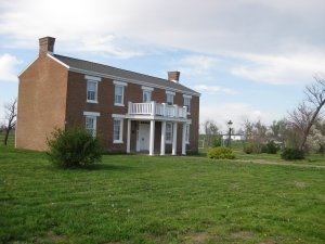Ritchey Mansion at the Newtonia Battlefield