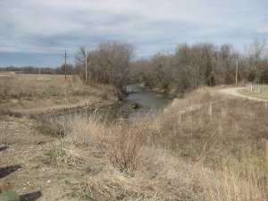 Price's Retreat Tour Stop 4 Looking West Along Little Osage River