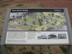 Price's Retreat Tour Stop 5 Fort Scott Today