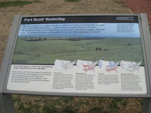 Price's Retreat Tour Stop 5 Fort Scott Yesterday