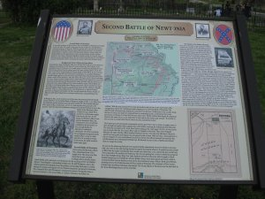 Second Battle of Newtonia Historical Marker