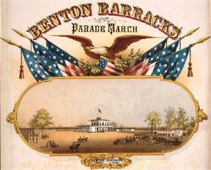 1862 Benton Barracks Poster by Jacob Endres