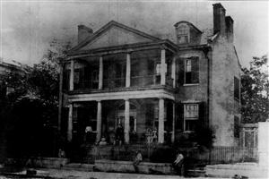 The Berthold Mansion in St. Louis from St. Louis The Fourth City 1764-1909, by Walter B. Stevens