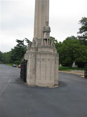 Entrance to Calvary Cemetery in St. Louis, Missouri