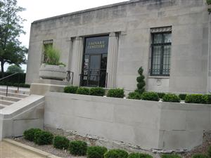 Visitor Center at Calvary Cemetery in St. Louis, Missouri