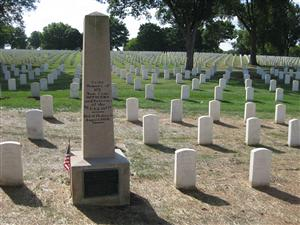 The 56th U.S. Colored Infantry Memorial at Jefferson Barracks National Cemetery