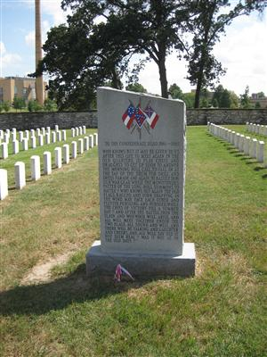 Confederate Dead Memorial at Jefferson Barracks National Cemetery