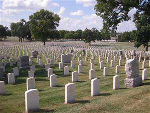 Photograph of Jefferson Barracks National Cemetery