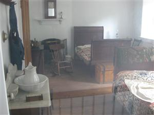 View from inside the Laborer's House at Jefferson Barracks