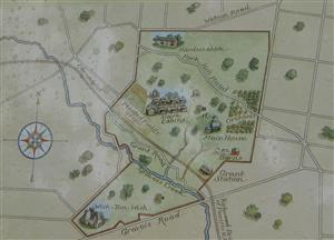 Map of the White Haven Plantation
