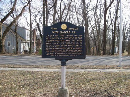 New Santa Fe Historical Marker