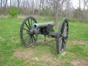 Model 1861 Rifled Gun located at WCNB Pulaski Battery site