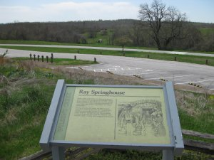 Ray Springhouse Interpretive Sign