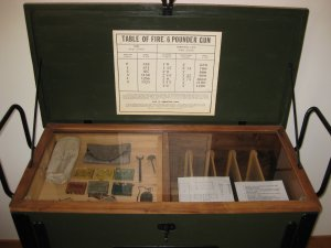 Model 1841 6-pdr Gun Ammunition Chest